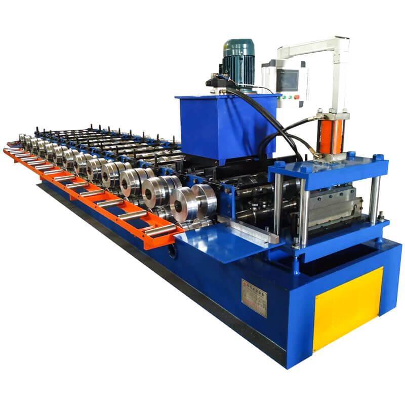 Grain Silo Steel Corrugated Panel Roll Forming Machine For